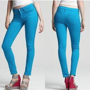 Rag & Bone Skinny Stretch Jeans In Bluebird Wash